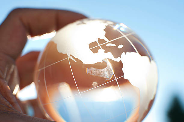 Global business international travel concept. stock photo
