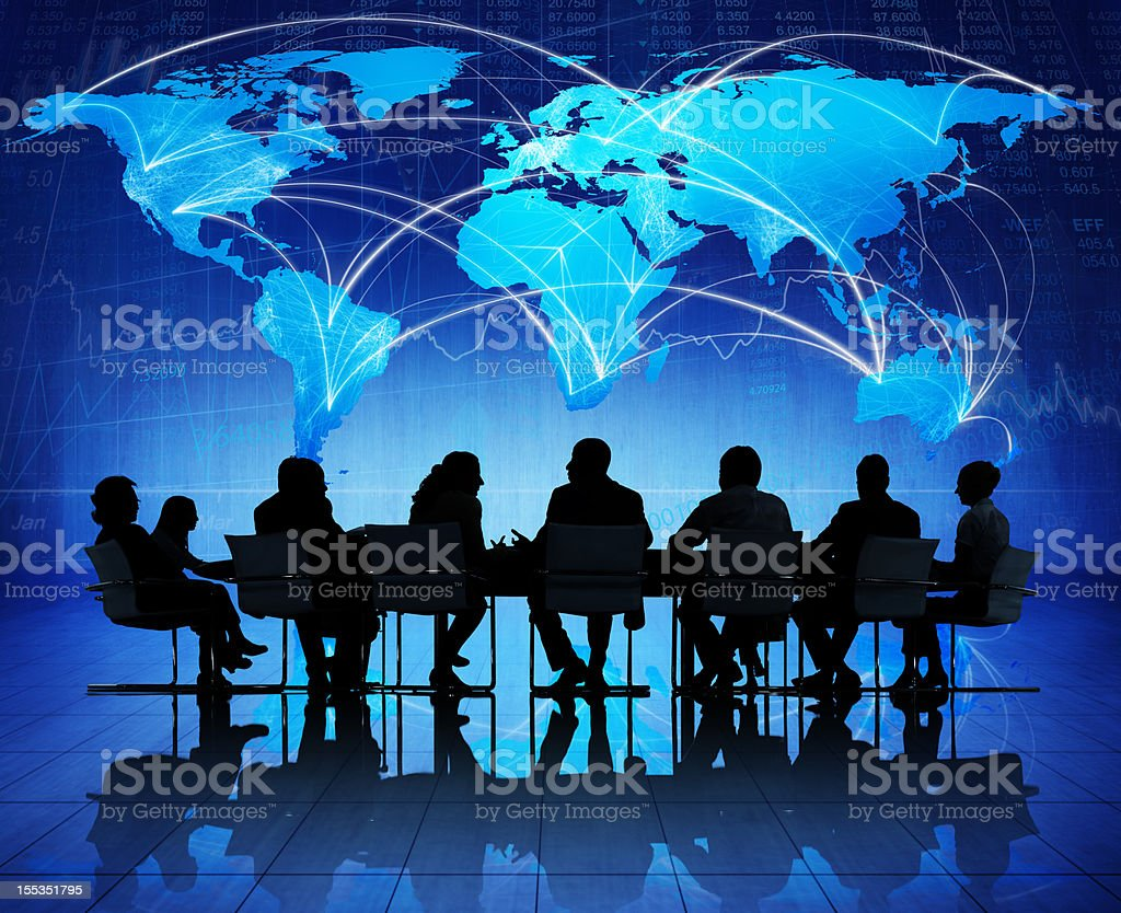 Global business meeting. royalty-free stock photo