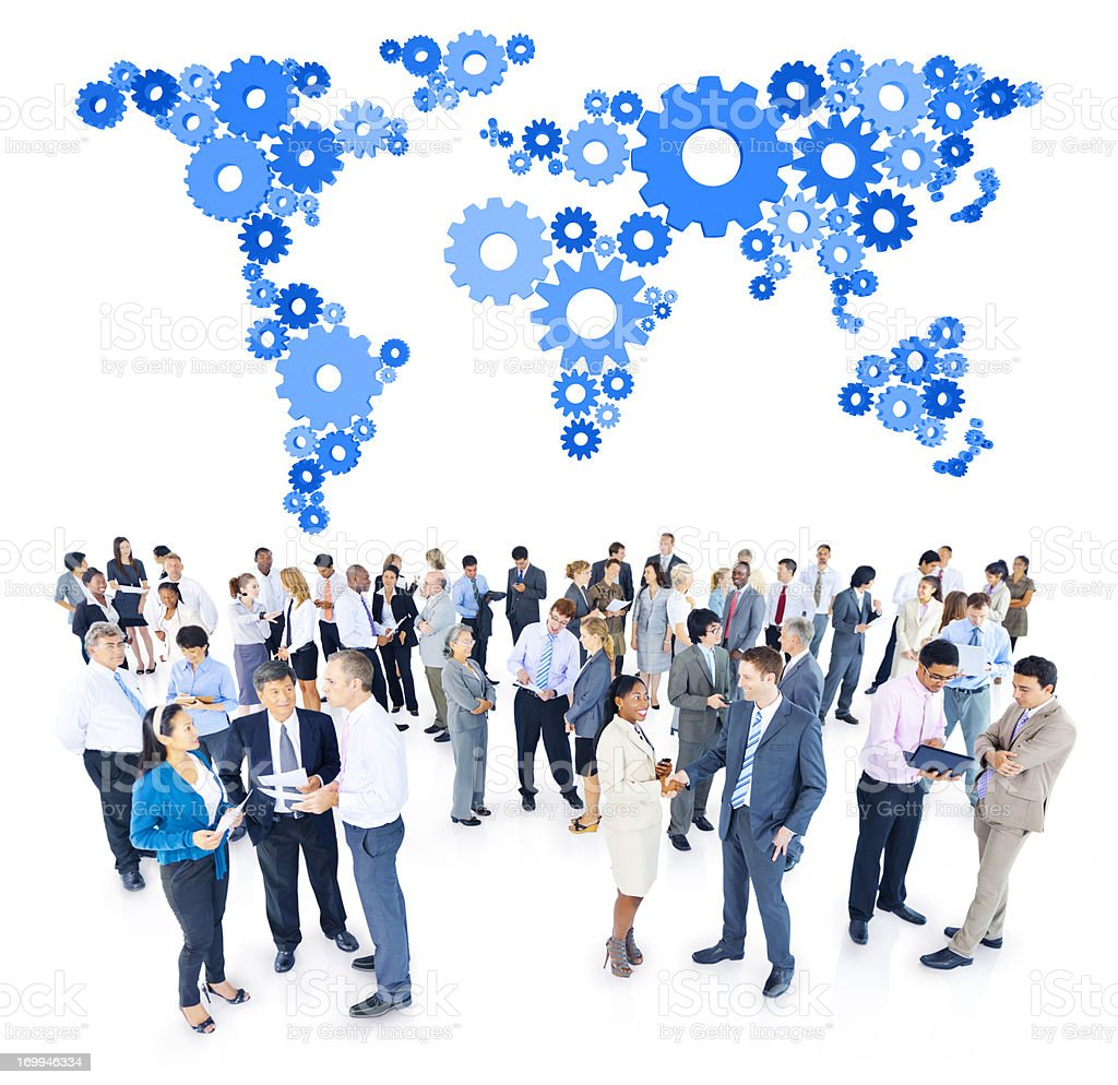Global Business People royalty-free stock photo