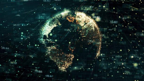 global business - big tech foto e immagini stock