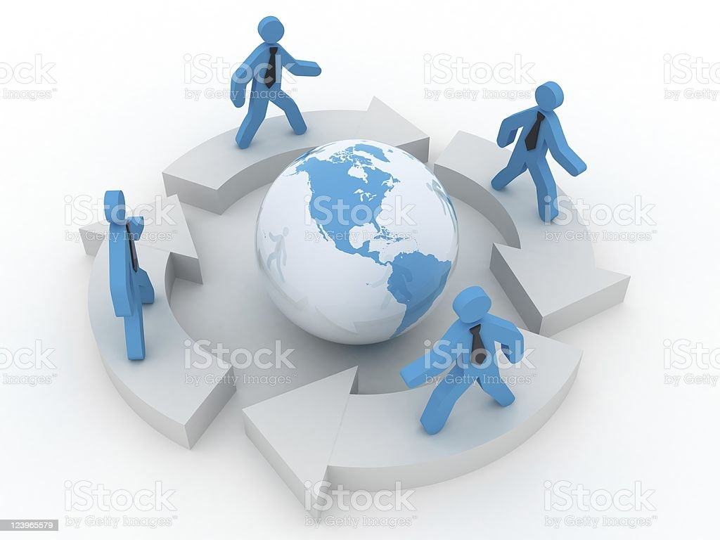 Global Business royalty-free stock photo
