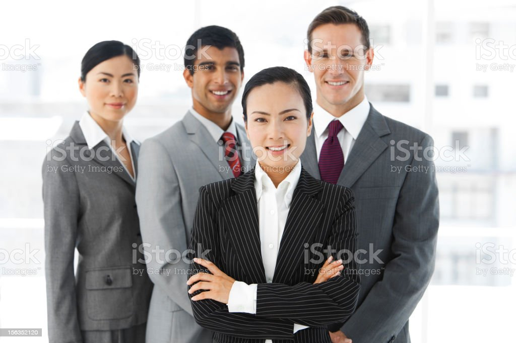 Global business team royalty-free stock photo