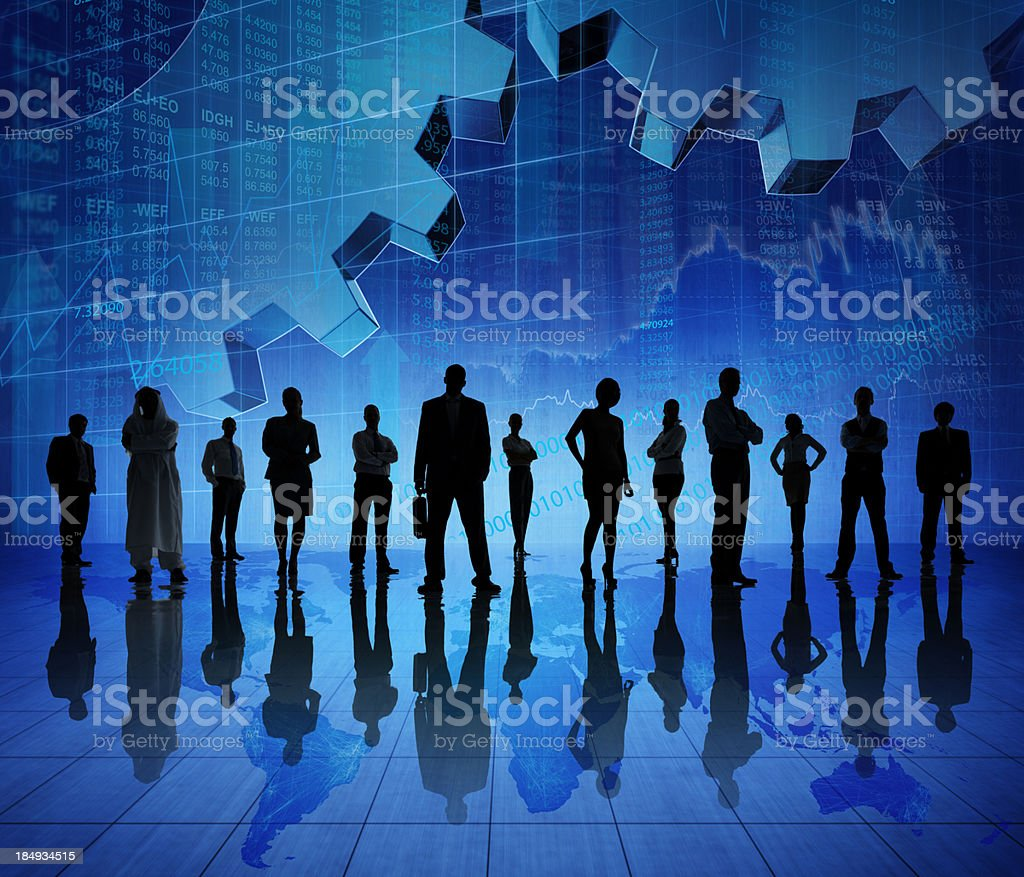 Global Business Team. royalty-free stock photo
