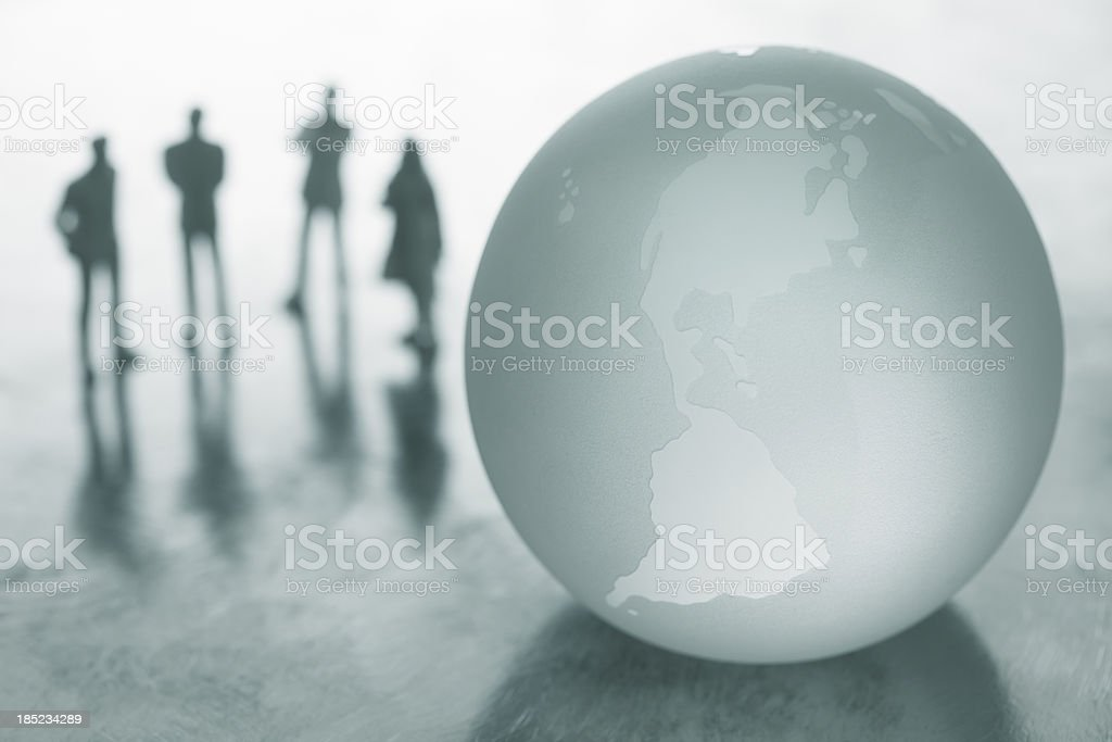 Global business teamwork royalty-free stock photo