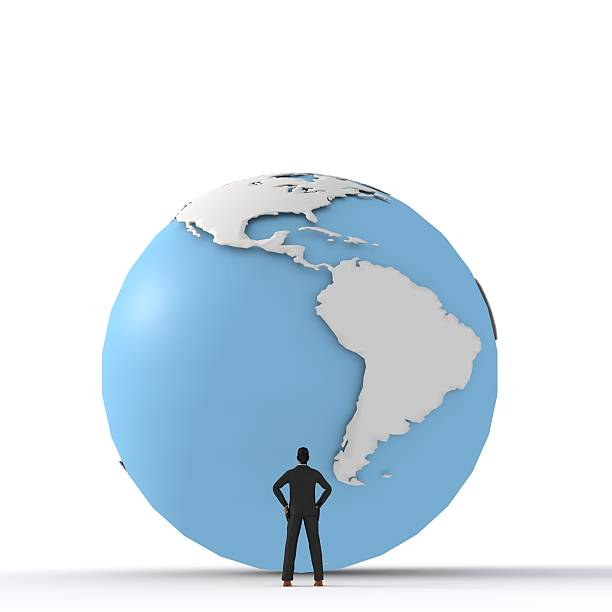 Global business - The Americas stock photo