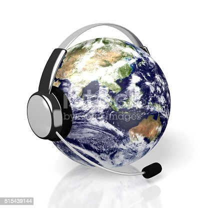 538675410istockphoto 3D global call centre - headset concept 515439144