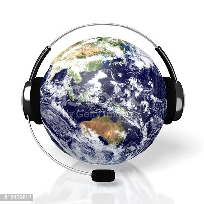 538675410istockphoto 3D global call centre - headset concept 515439812