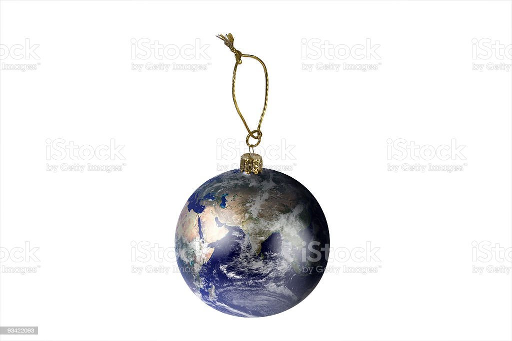global christmas royalty-free stock photo