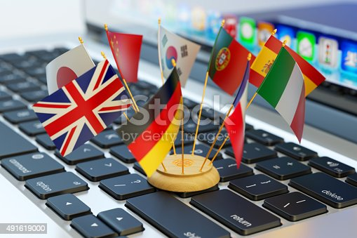 istock Global communication and business concept 491619000
