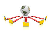 istock Global Communication Concept 172466100