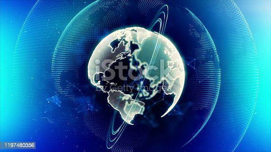1140427616istockphoto Global communication concept. Technological abstract background 1197480356