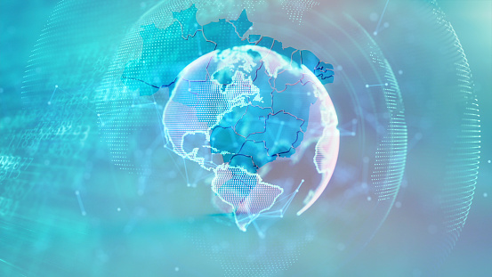 1140427616 istock photo Global communication concept. Technological abstract background 1197480387