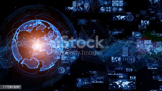 1169711469istockphoto Global communication network concept. GUI (Graphical User Interface). 1172913261
