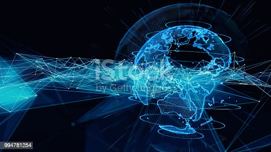 istock Global communication network concept. 994781254
