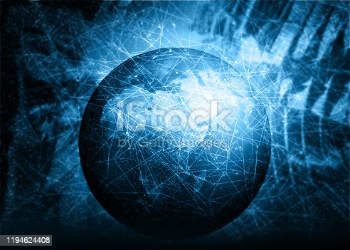 istock Global communication networking 1194624408