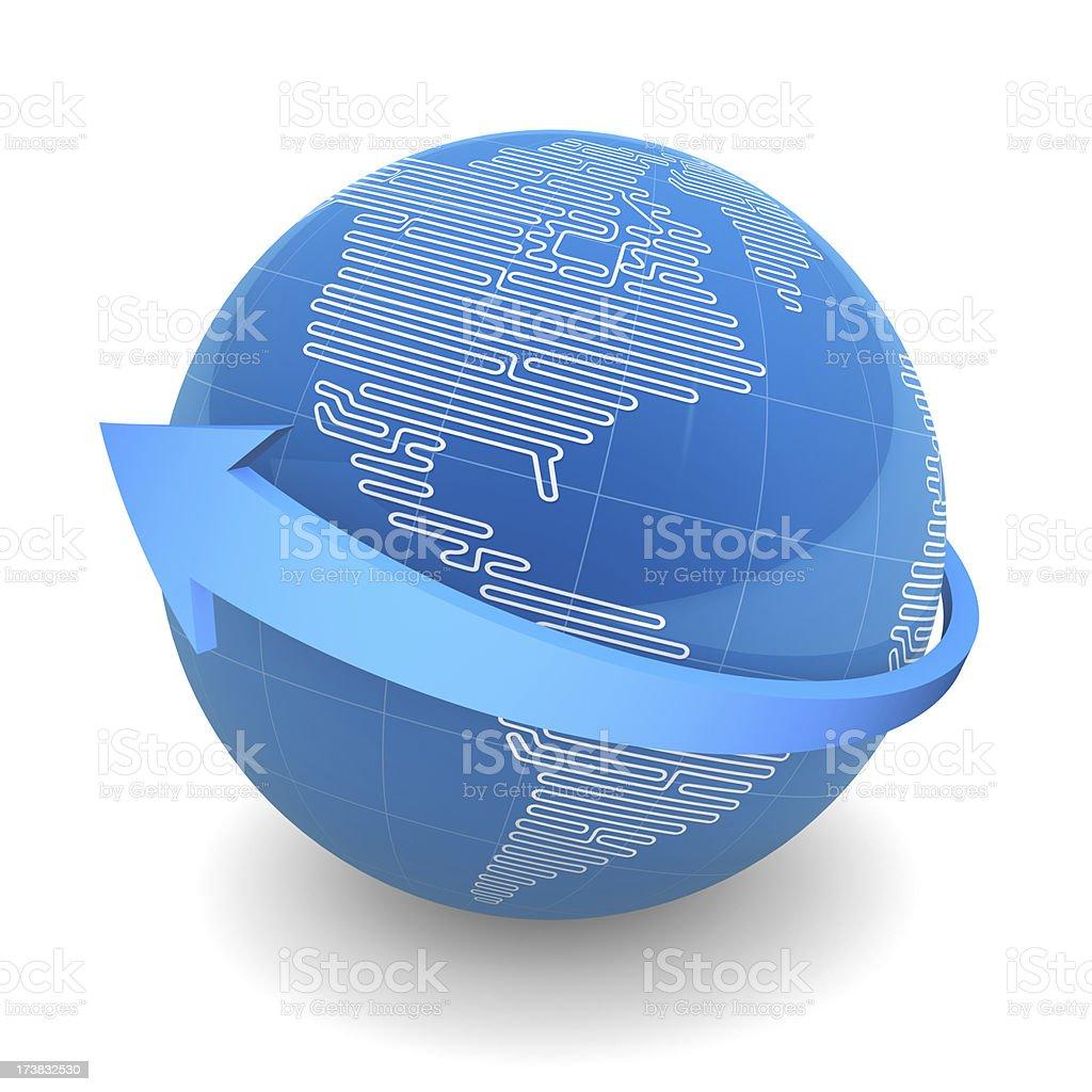 Globale Kommunikation – Foto