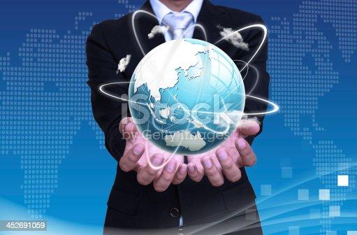 522382893istockphoto Global communication 452691059
