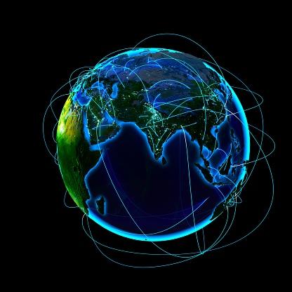 Global Communication - Fotografias de stock e mais imagens de Comunicação