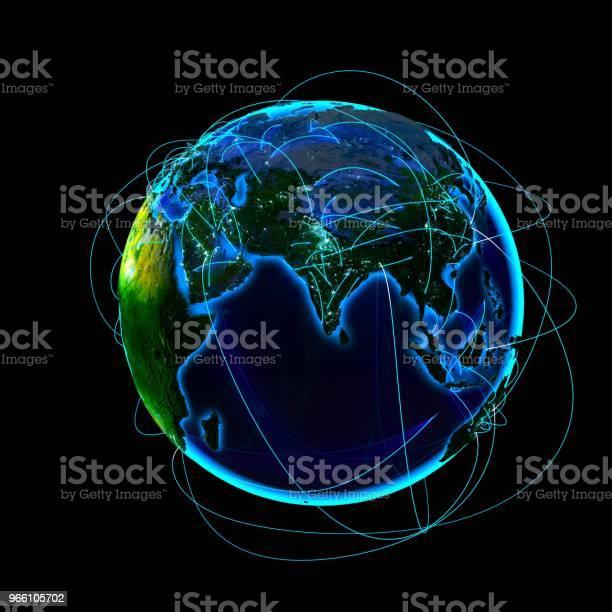 Глобальная Коммуникация — стоковые фотографии и другие картинки Глобальная система связи