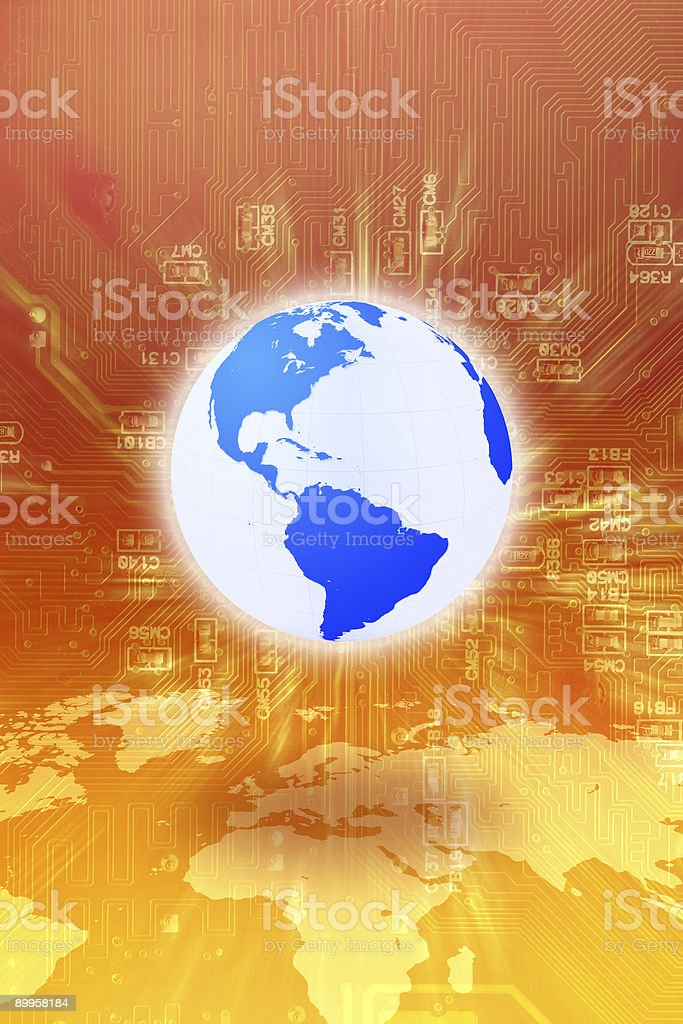 Global Communication Series royalty-free stock photo