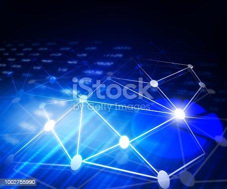 istock Global communication technology 1002755990