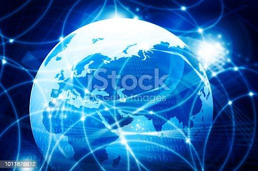 istock Global communication technology 1011876612