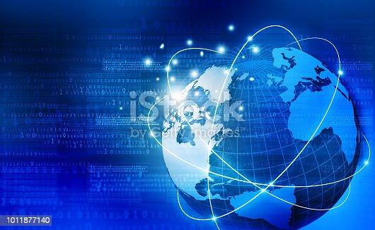 istock Global communication technology 1011877140