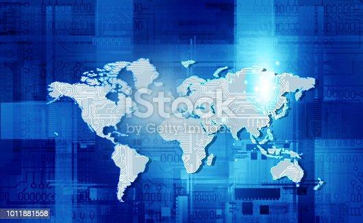 istock Global communication technology 1011881558