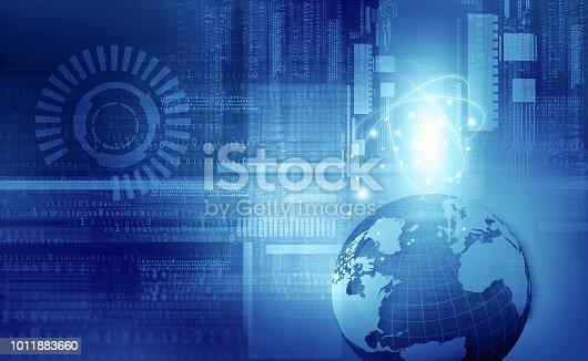 istock Global communication technology 1011883660