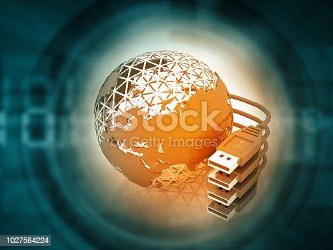 istock Global communication technology 1027564224