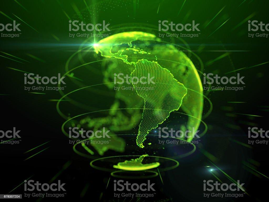 Tecnologia de comunicação Global - foto de acervo