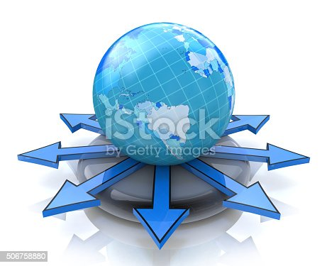 istock Global concept 506758880