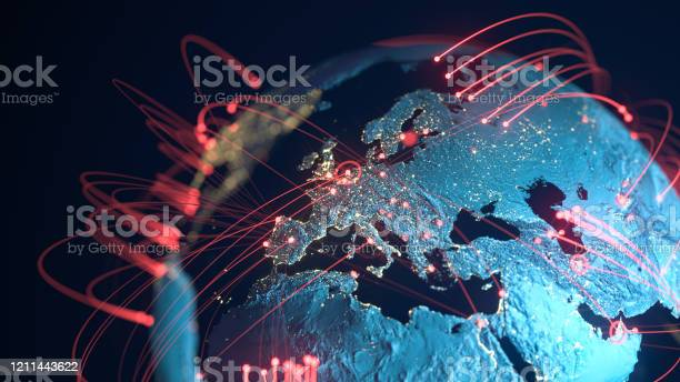 Photo of Global Connection Lines - Data Exchange, Pandemic, Computer Virus