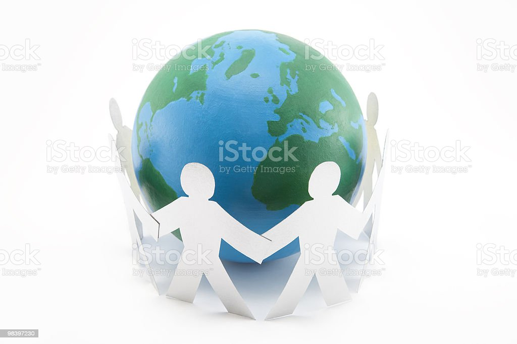 Global Connections royalty-free stock photo