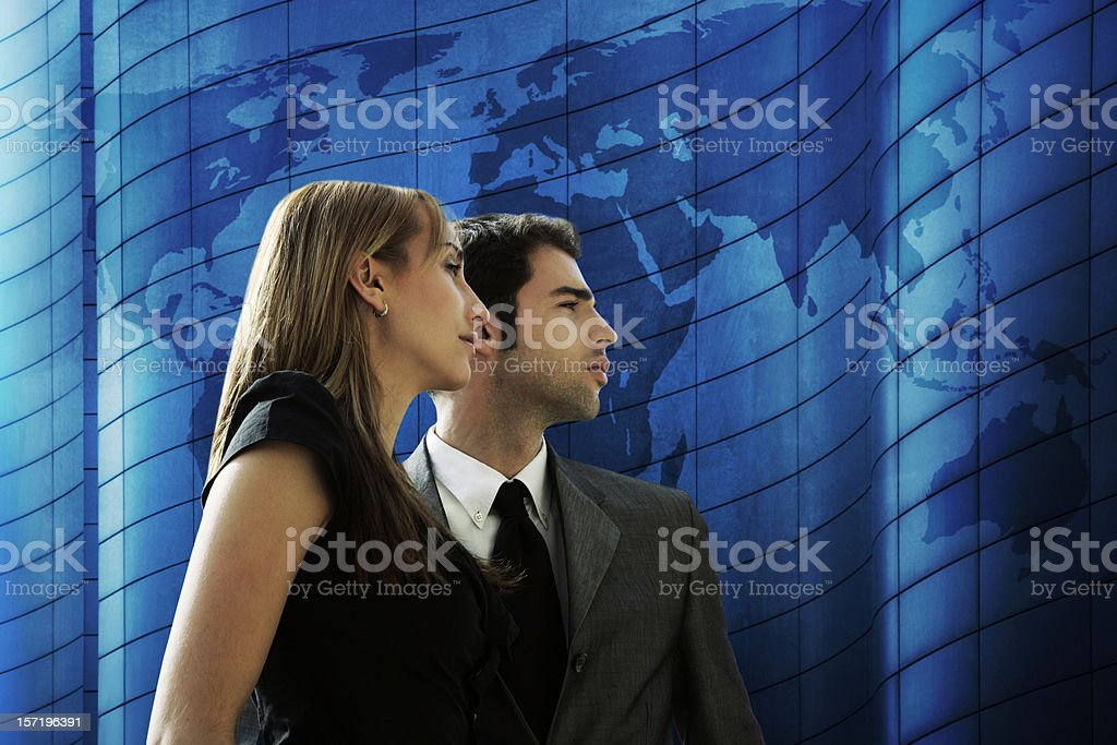 Global corporation royalty-free stock photo
