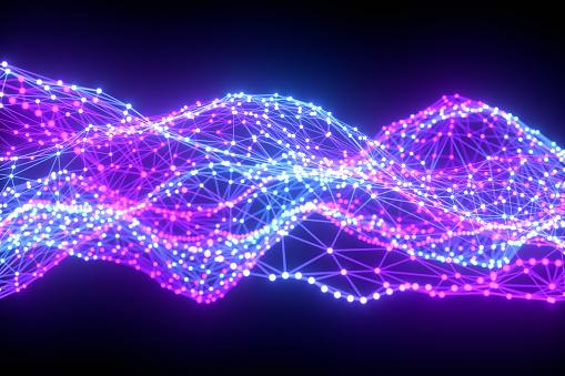1148091793 istock photo Global digital mesh network, Blockchain, Futuristic Technology 1190822671
