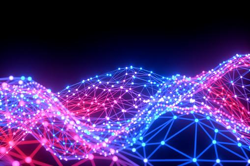 1148091793 istock photo Global digital mesh network, Blockchain, Futuristic Technology 1191020940