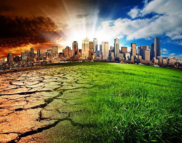 Global Disaster stock photo