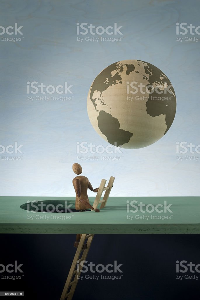 Global Discovery royalty-free stock photo