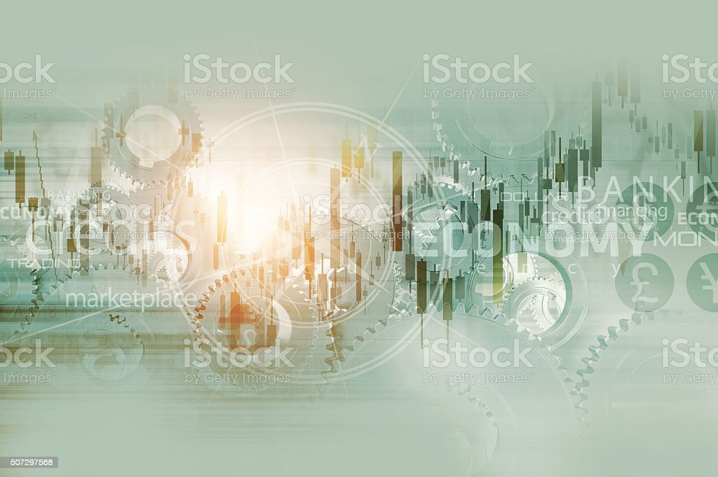 Global Economy Background stock photo