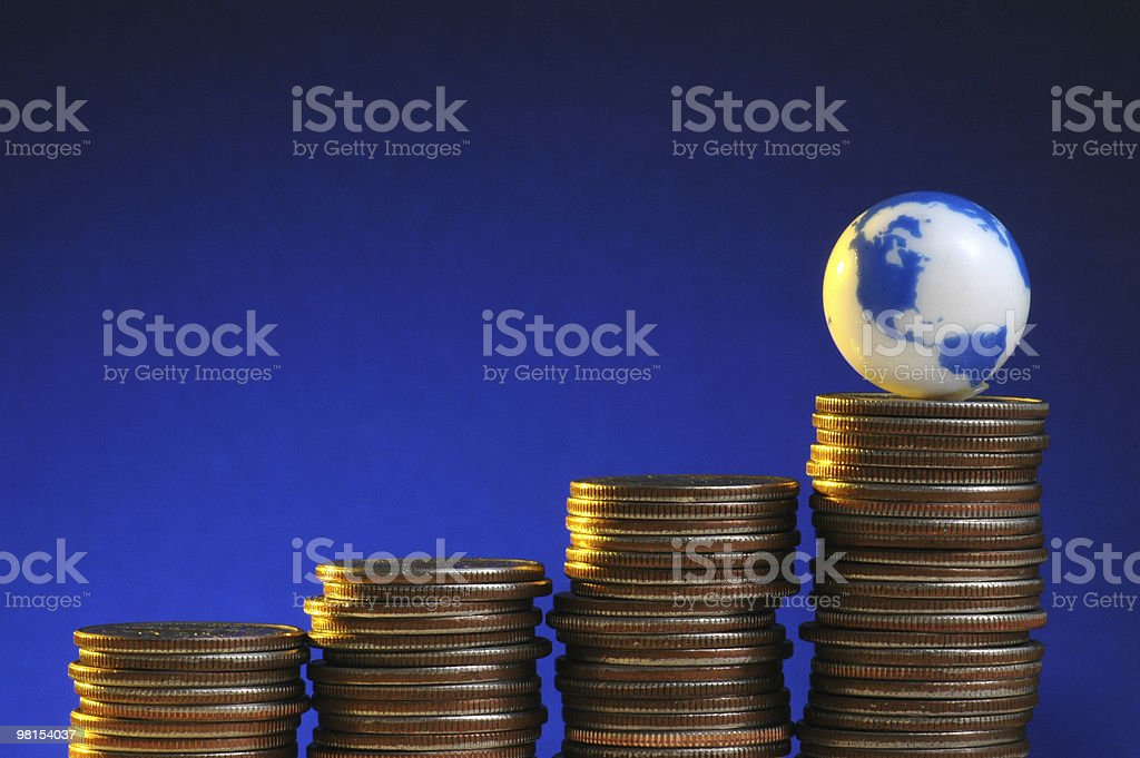 Global Economy royalty-free stock photo