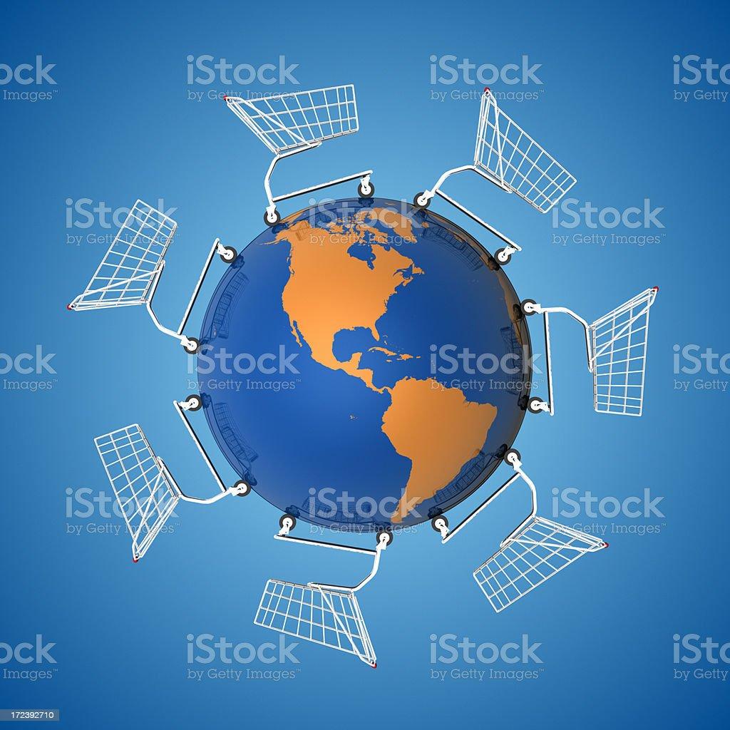 Global Economy: The Americas XXL royalty-free stock photo
