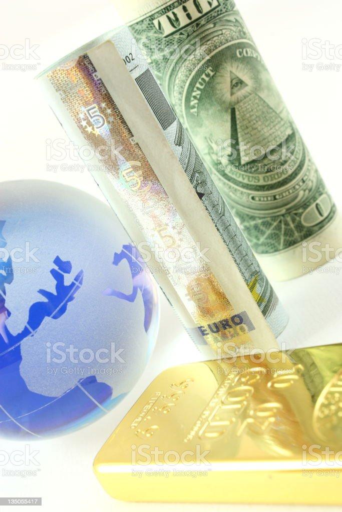 Global finance royalty-free stock photo