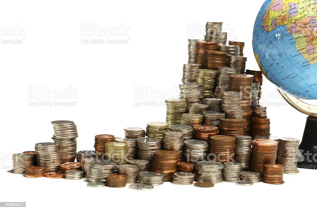Global finances royalty-free stock photo