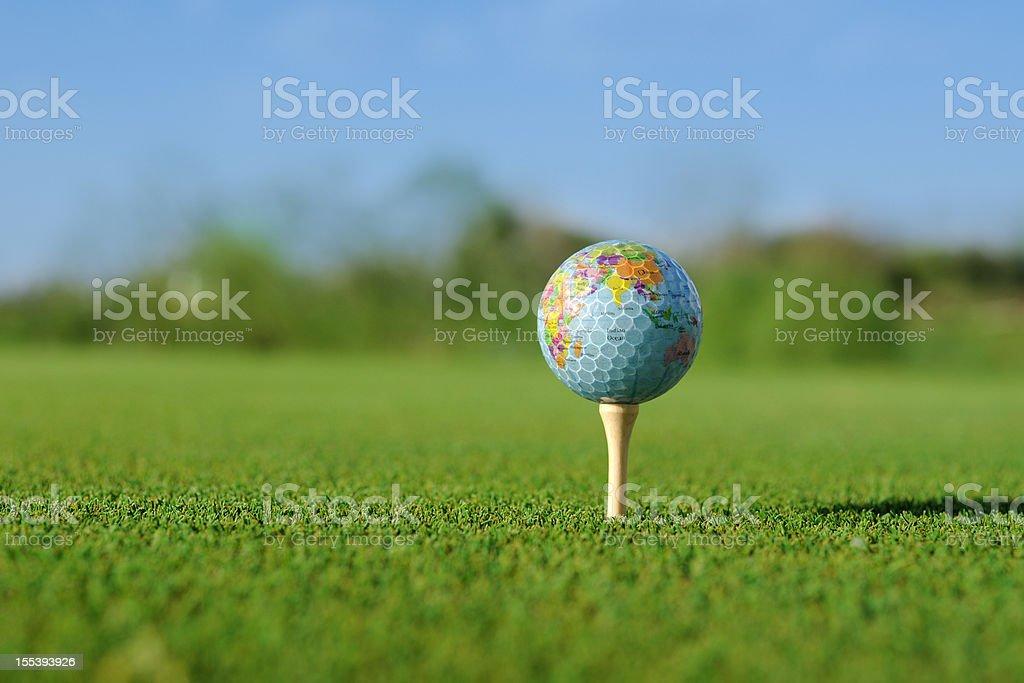 Global Golf Sport - XLarge stock photo