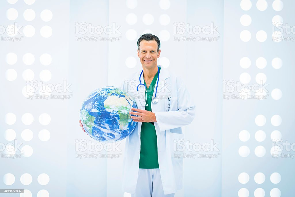 Global health and medicine royalty-free stock photo