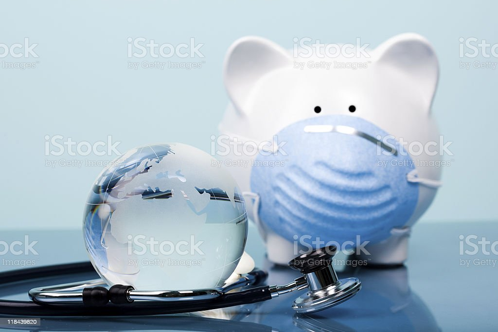 Global healthcare concept royalty-free stock photo