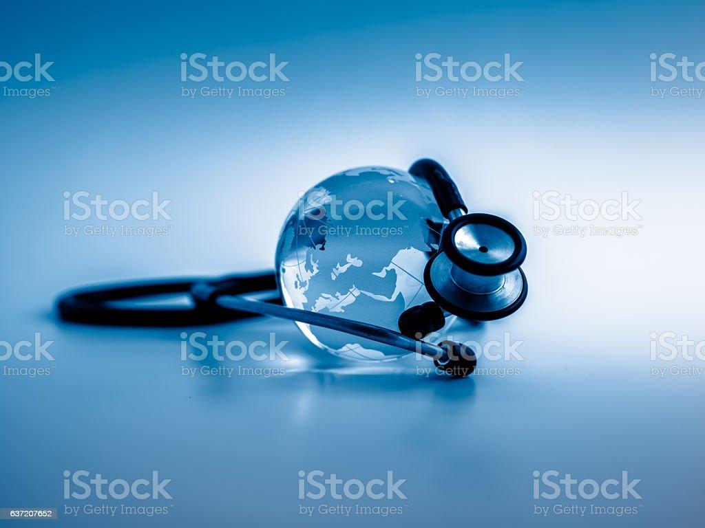 Global healthcare stock photo