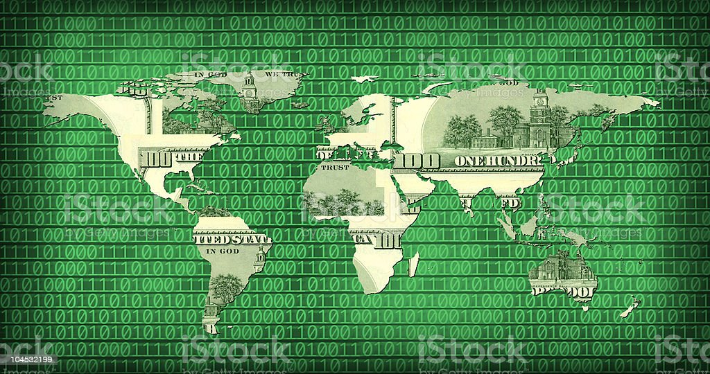 global internet business metaphor royalty-free stock photo