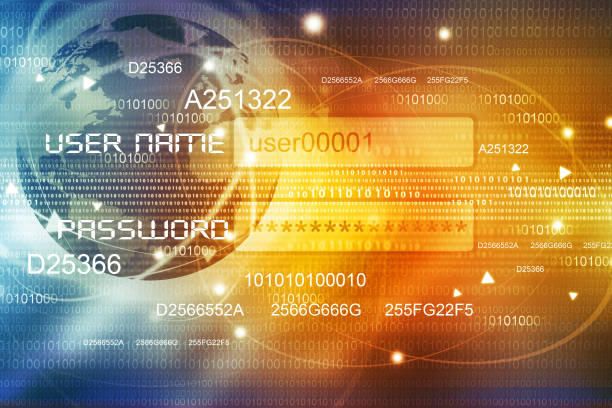 Global Internet concept background stock photo